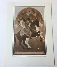 1946 7x9.5 print ~ Persians Playing Polo