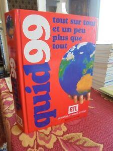 Encyclopédie QUID 1999