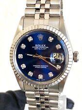 Rolex Datejust 36 Jubilé Edelstahl Diamant Besatz Ref. 16030