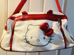 EUC HELLO KITTY Sanrio Licensed Rare Duffle Bag Extra Large Tote - RRP $150.00