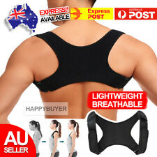 Posture Corrector Women Men Shoulder Brace Back Support Strap Belt Adjustable
