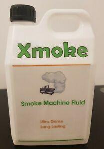 Xmoke Fog/Smoke Machine Fluid High Density 2.5 Litres