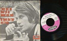 JACQUES DUTRONC 45 TOURS FRANCE LE FOND DE L'AIR...