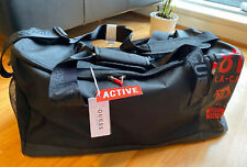 Guess Large Gym/Weekend Bag In Black/Red NEW