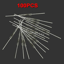 10 pcs 10x Reed Switch Glass N//O Low Voltage Current 2x14mm