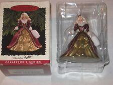 Hallmark 1996 Collector Series Keepsake Ornament Holiday Barbie Victorian Mattel