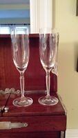Lalique Paris Neo Lalique Champagne Flute – James Suckling – Set of Two
