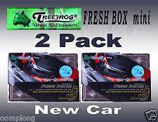 2 Pack Treefrog Fresh Box Mini NEW CAR Scent Car Air Freshener JDM Product