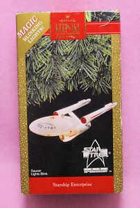 1991 Hallmark Star Trek Starship Enterprise 25th Anniversary Ornament