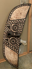 African Vintage Butterfly Plank Mask  in Excellent condition.