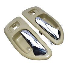 Pair Door Handles Rear Right Left for Honda Accord 72625SV4013ZE 72665SV4013ZE