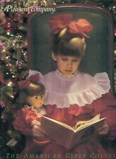 1989 RETIRED PLEASANT COMPANY CATALOG! SAMANTHA COVER~CRANBERRY PARTY DRESS!