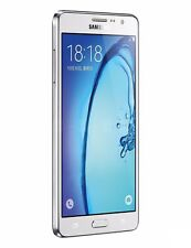 "Samsung Galaxy On7 G6000 White Dual Sim 8GB Quad-core 5.5"" Phone By FedEx"