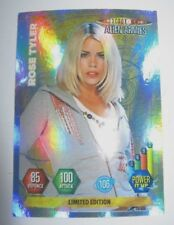DOCTOR DR WHO PANINI ALIEN ARMIES LIMITED EDITION ROSE TYLER CARD .RARE.