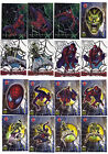 Spider-Man Movie 2002 Trading Cards: Lot of 16 - 3 Foil 4 Clear Cards 9 Stickers