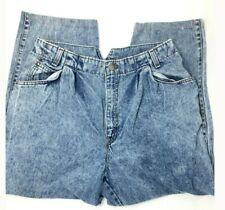 Vintage Levis 900 Series High Waisted Acid Wash Jeans size 14 Short