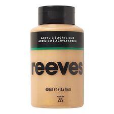 Reeves Acrylic Paint Gold 400 Ml