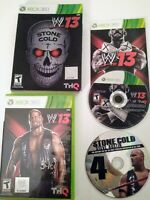 Rare WWE 13 Stone Cold  Austin 3:16 Edition for Xbox 360 Collectors 2013 Game