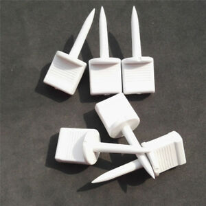 50pcs Archery Target Pins Nails Plastic Fixed Targets Paper Face Foam Shooting
