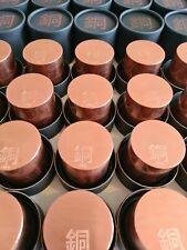 ~1kg .999 Copper Bar/bullion- Round - Now shipping internationally!!