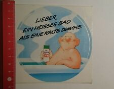Decal/Sticker: Wick Vapo bad prefer a hot bath as a (2311162)