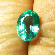 1.27 ct  Top Of The Line! Natural Zambian Emerald Certified