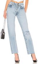NWT! PALMER GIRLS X MISS SIXTY Boyfriend Jeans Light Wash Distressed Size 27 W