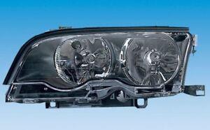 BMW 3er E46 Scheinwerfer Cabrio Coupe  10.01-3.03  Links schwarz  ORIGINAL BOSCH