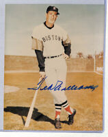 Ted Williams signed auto autograph 8x10 photo JSA COA - Red Sox HOF