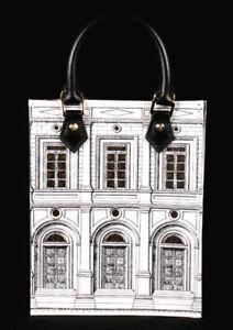 LOUIS VUITTON 2021 FORNASETTI Monogram Architettura PETIT SAC PLAT Bag