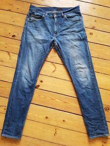 Tiger of Sweden Jeans, Evolve, W 36, L 34, blau, L/XL