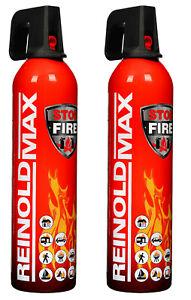 REINOLDMAX Feuerlöschspray, Stop Fire, Feuerlöscher 750 g, 2 Stück, 044023