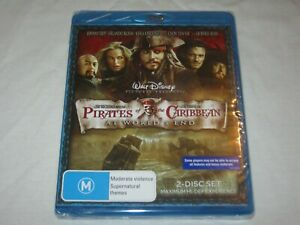 Pirates Of The Caribbean At World's End - Brand New & Sealed - Region B -Blu Ray