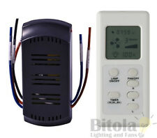 NEW MERCATOR FRM97 LCD CEILING FAN TIMER REMOTE CONTROL KIT UNIVERSAL RF