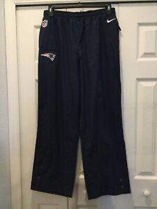 NIKE New England Patriots Navy Blue Stormfit Pants. Size XXL Worn  Once.