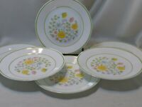 """Set of 6 Corelle Spring Meadow 81/2"""" SALAD  Plates"""