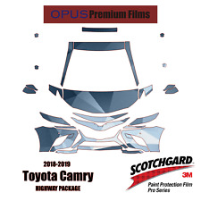 2018-2019 Toyota Camry SE 3M PRO Series Paint Protection Kit HIGHWAY PACKAGE