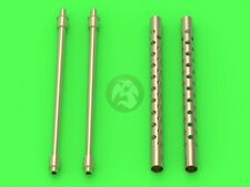 Master 1/24 M2 Browning .50 Cal (12.7mm) Aircraft MG Barrels (Airfix) AM-24-017