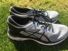 Men's Asics Kayano 24 Gray Silver Black Running Shoes Size 9.5
