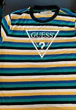 2 Different Guess Mens Short Sleeve T Shirt Size XXL 2XL 100% Authentic