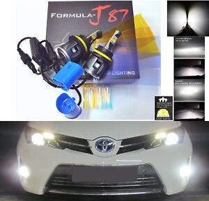 LED Kit C 80W 9004 HB1 6000K White Head Light Two Bulbs High Low Beam Lamp Fit