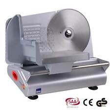 Electric Meat Slicer Cheese Bread Vegetable Food Cutter Processor Kitchen 100W