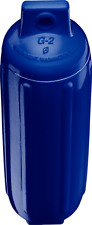 Cobalt Blue Polyform G2 Boat Fender 4.5'' x 15.5'' Bumper Ribbed Twin Eye USA