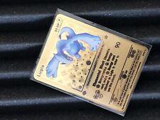 Pokemon Lugia 1st Edition Neo Genesis Metal Fantasy Custom Card