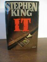 Stephen King - IT - TRUE First Edition $22.95 VIKING