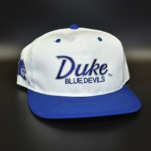 Duke Blue Devils Vintage Sports Specialties The Twill Script Snapback Cap Hat