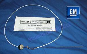 82-92 Camaro Firebird Power Antenna Nylon Cable Repair Kit NEW GM   297