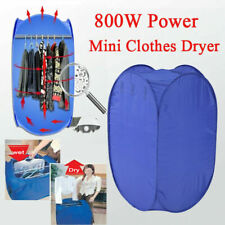 800W Electric Air Heater Clothes Dryer Rack Folding Drying Machine Portable Use