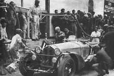 Alfa Romeo 8C 2300MM & Nuvolari - 1933 Le Mans – photo photograph