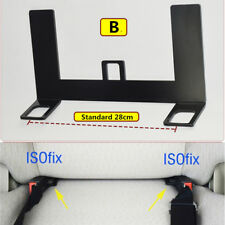 Universal ISOFIX Mount Base SUV Car Safety Seat Belt Bracket Latch 5mm Steel 1x